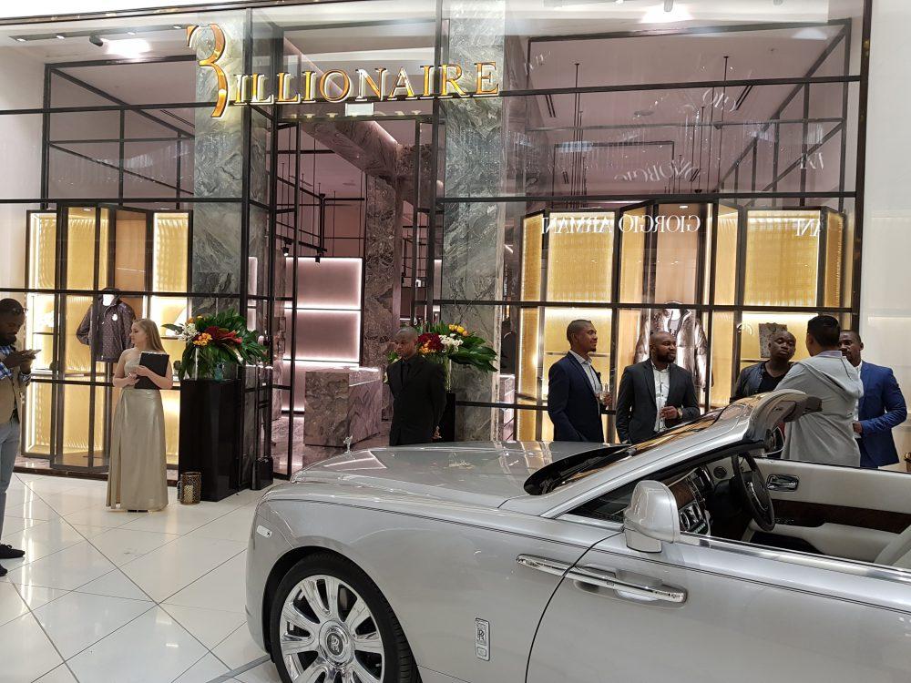 Billionaire Couture store