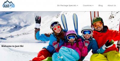 Webtours Group announces new website for Just Ski