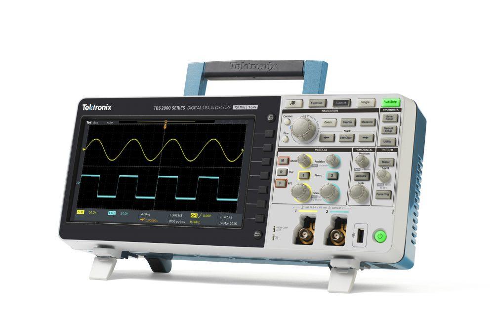 Rs Components Adds Advanced Handheld Digital Storage Oscilloscopes Oscilloscope Adapter From Tektronix