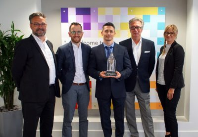 RS Components receives Distributor of the Year award from Bulgin