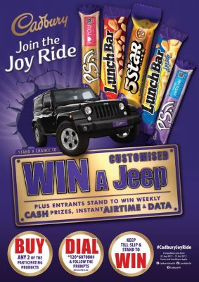 Win a CUSTOMISED Jeep Wrangler!