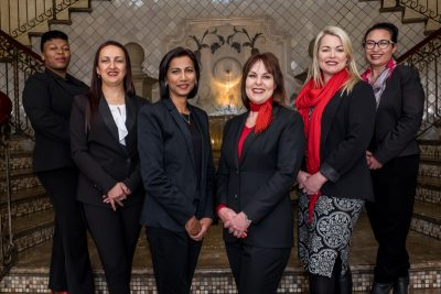 Women scale the heights at Montecasino
