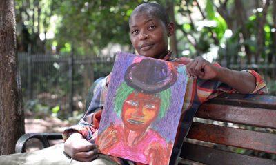 Zapper Empowers Homeless Artists by Establishing Chuma Somdaka Art Foundation