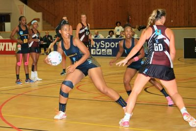 Madibaz netballers fighting to the bitter end
