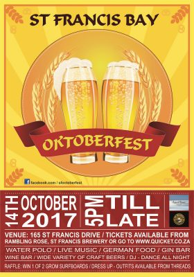 Get Ready For The St Francis Bay Oktoberfest 2017