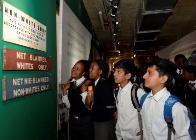 Heritage visit to Apartheid Museum by Grade 9s