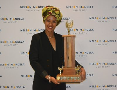 Award inspires Twani to reach new heights