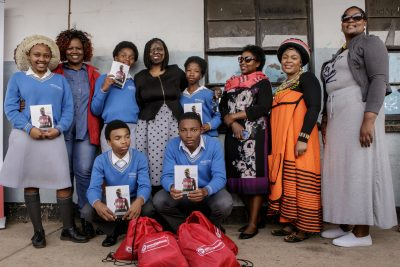 Sovereign Foods and burn victim inspire youth from Uitenhage