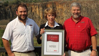 Local Superspars bag national Service Excellence Award