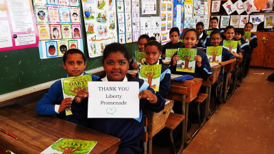 Liberty Promenade, Read to Rise, and poet Athol Williams share the secret to being happy! This exclusive partnership focuses on boosting literacy and creativity levels within Mitchell's Plain