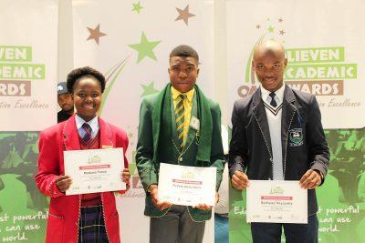 Disadvantaged pupils shine at Pretoria awards