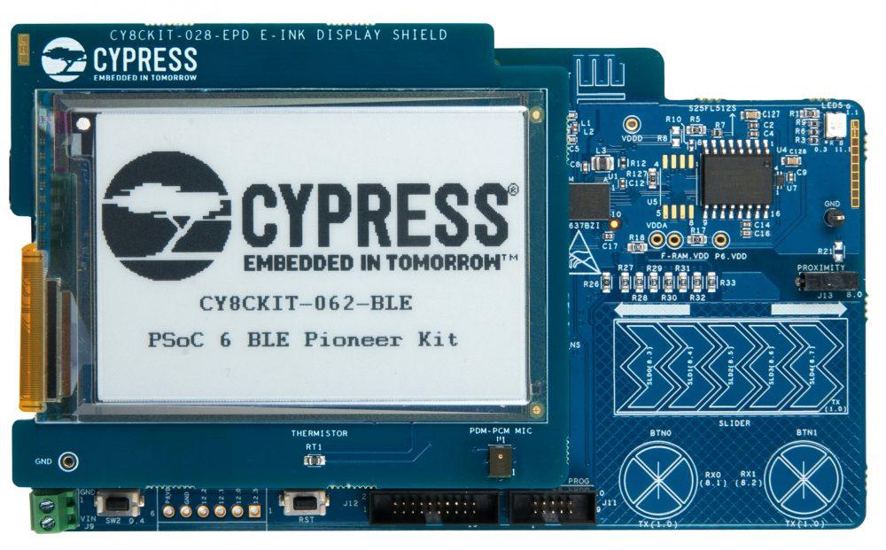 Cypress' PSoC 6 BLE Pioneer Kit