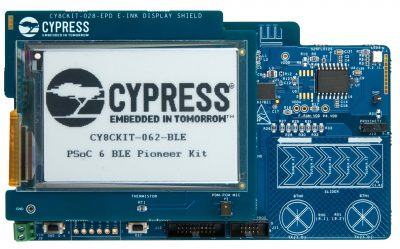 RS Components kickstarts early IoT development on latest PSoC 6 MCUs, with advanced access to Cypress' PSoC 6 BLE Pioneer Kit