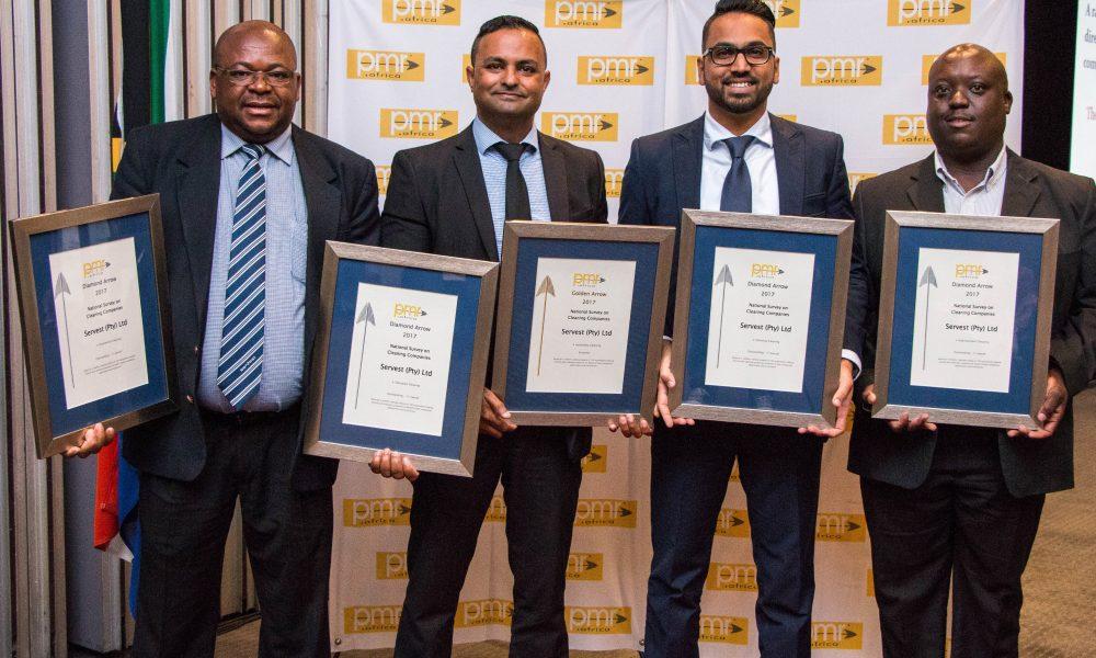 Servest Wins 4 Diamond PMR.africa Awards