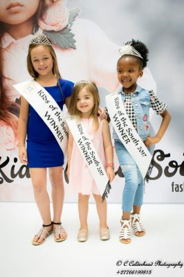 Over R130 000 worth of prizes at the Kids of the South fashion event