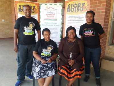 Nkanyezi Primary School pupils take first place in new reading club competition