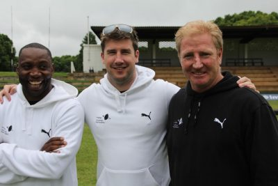Former rugby greats focus on school development