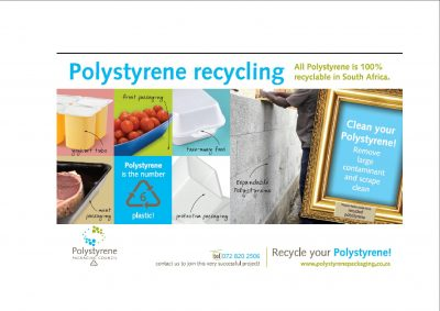 South Africans Urged to Recycle Their Polystyrene