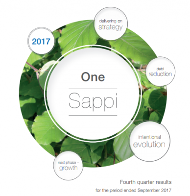Sappi Releases Positive Financial Results