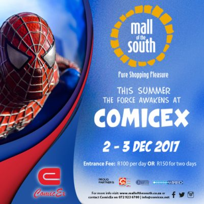 ComicEx 2017 at Mall of the South