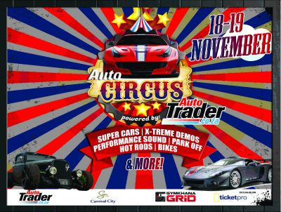 AutoTrader to host Gymkhana GRiD feature at #AutoCIRCUS festival