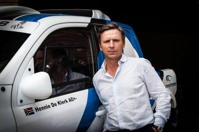 Hennie de Klerk, South Africa's only privateer, begins final preparation for the DAKAR Rally 2018