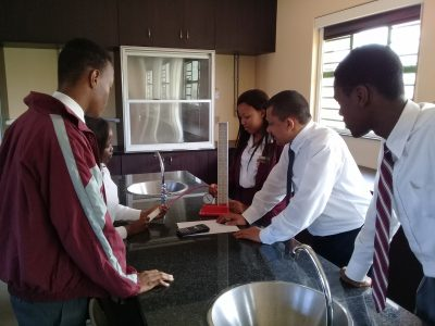 Fairvale Secondary School gets a new Science Lab courtesy of Engen