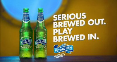 Flying Fish Brews Out the Serious of Monday and Brews In Some Play with #JoziDivers