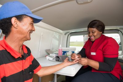 SA Truck Drivers get free health screening