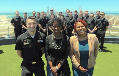 US Students Learn From Bay Maritime Sector