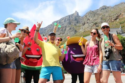 aQuellé spreads water joy in Cape Town
