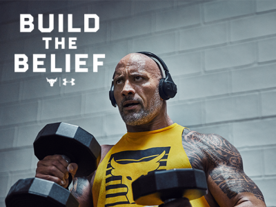 Under Armour Introduces Their Third Project In Partnership With Dwayne Johnson Called Chasing Greatness.