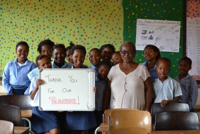 Shamwari Conservation Sponsors New School Teacher