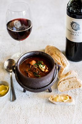 Warm up to winter with hearty soups at Constantia Glen
