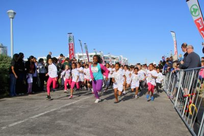 SPAR Little Ladies race plays a vital role