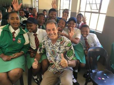 Shaun Tomson to ride a Positive Wave through KwaDukuza