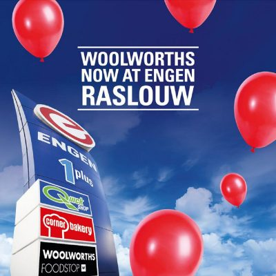 Engen Raslouw in Centurion gets a Woolies Foodstop