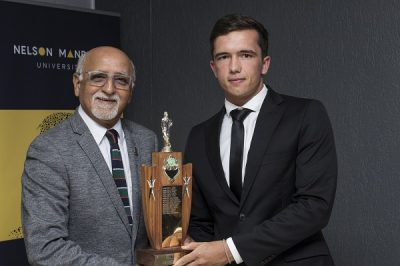 Masterson earns top Madibaz cricket award
