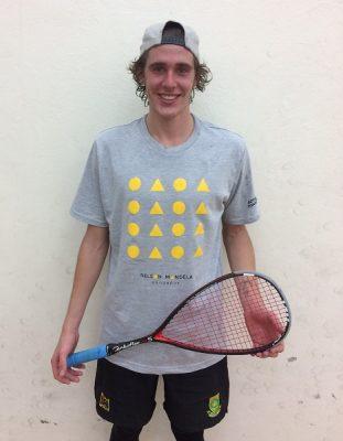 Kuhn wins Madibaz Open squash title