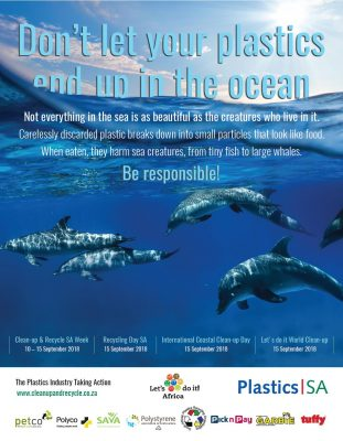 New Radio and TV adverts for Plastics|SA focus on marine litter