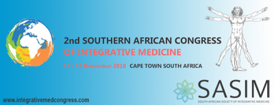 2nd Southern African Congress of Integrative Medicine (SACIM 2018)