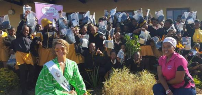 Project Dignity and Subz Celebrated Youth Month visiting Tongaat's Dalibo Primary School