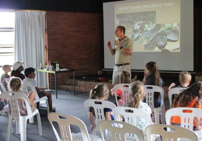 Winter Holiday Snake Safety Courses for Kids at Crocworld