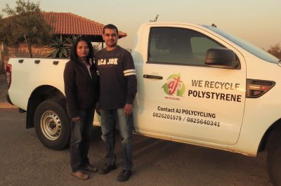 Polystyrene collectors in Gauteng help industry reach recycling success