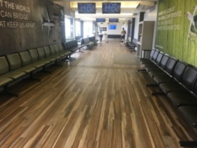 Polyflor SA helps take Lanseria departures lounge from drab to fab