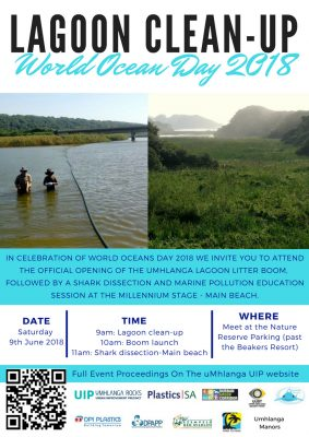 Launch of Umhlanga Lagoon Litter Boom – media invitation