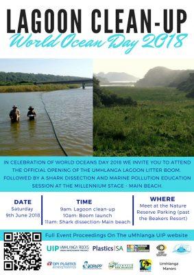 Launch of Umhlanga Lagoon Litter Boom – media invitation