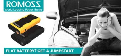 Romoss JS12 Jump Starter – The Perfect Companion for your Car