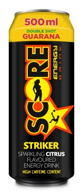New Score Striker – epic energy game changer with a citrus boost