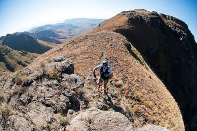 Christiaan Greyling Sets the Pace at The Cathedral Peak Challenge